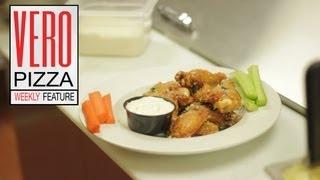 Vero Weekly Feature - Garlic Parmesan Chicken Wings