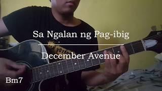 Sa Ngalan ng Pag ibig - December Avenue (Guitar Chords)