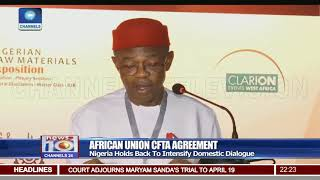 Video Why Nigeria Backed Down From Signing Pan African Continental Free Trade Area download MP3, MP4, WEBM, AVI, FLV April 2018