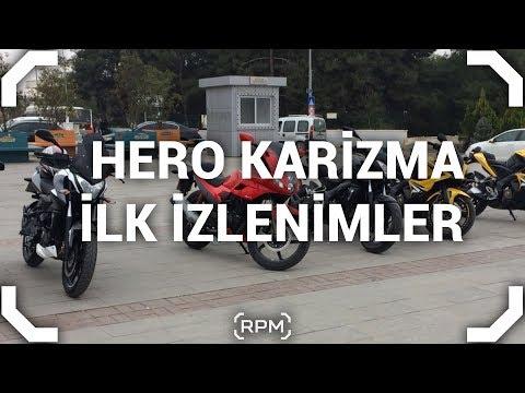 Hero Karizma İlk İzlenimler [RPM]