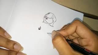 Wie zeichnet man einen cartoon-Gesicht (Grundlagen)|AK doodles|