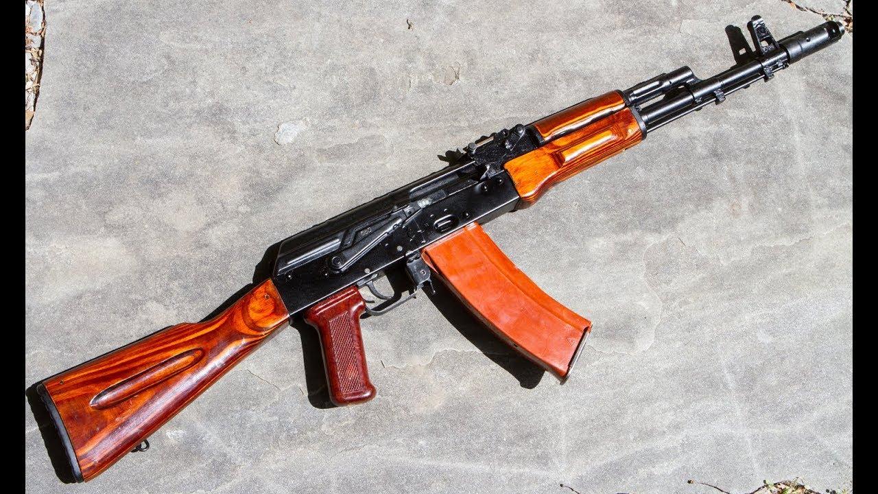 1983 Russian AK-74 | Showcase - YouTube