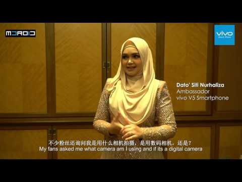 MDROID Exclusive: Interview with Dato' Siti Nurhaliza on the new vivo V5!