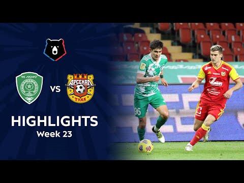 Akhmat Grozny Arsenal Tula Goals And Highlights