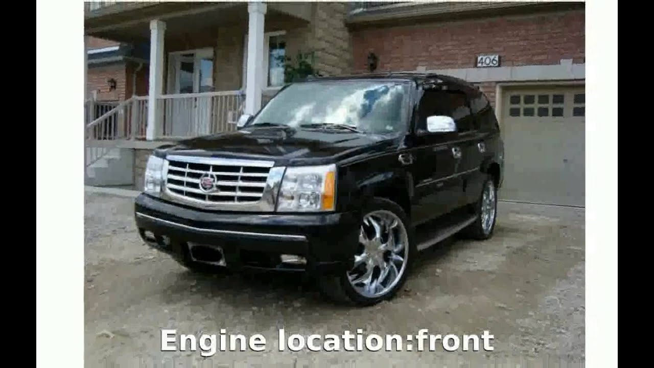 Cadillac cadillac escalade weight : 2006 Cadillac Escalade ESV - Equipment Specs Specification Power ...