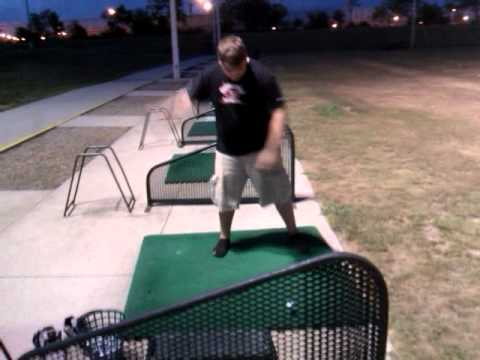 One handed golf