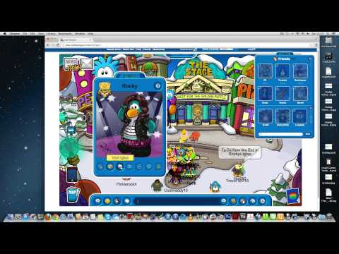 Club Penguin - How To Get To Famous Penguins Igloos