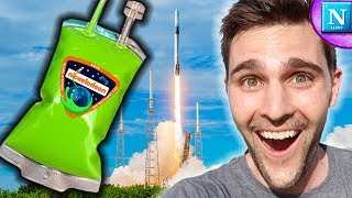 Sending Nickelodeon Slime to SPACE | Nickipedia