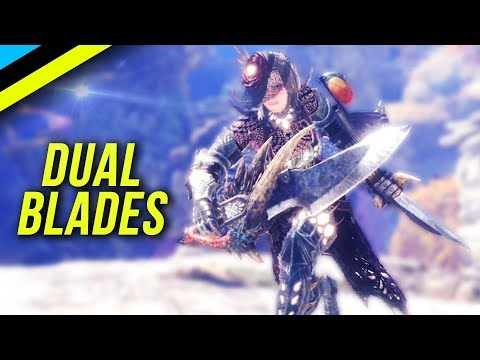 MONSTER HUNTER WORLD Why You Should Use Dual Blades