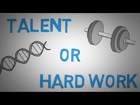 Does Talent Exist? Is Talent Just Hard Work? animated