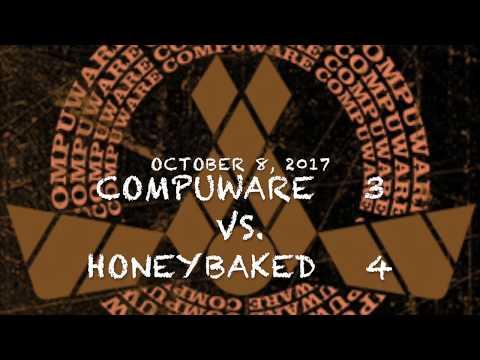 2017-10-08  COMPUWARE vs  HONEYBAKED :  CW LOSS 3-4