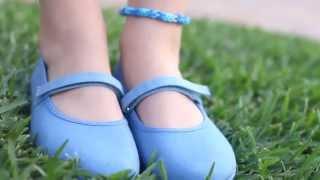 Merceditas de Lona Velcro para Niñas en Zapatería Infantil Online Pisamonas