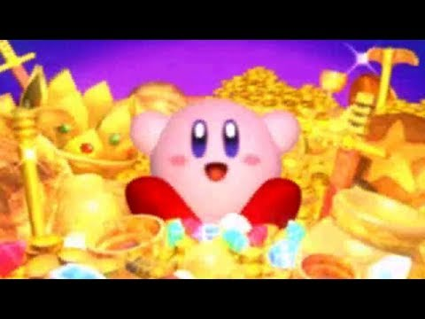 Kirby Super Star Ultra - The Great Cave Offensive (All Treasures)