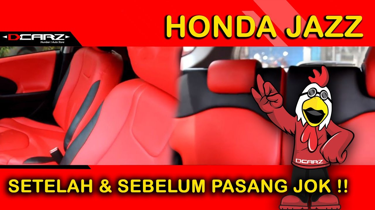 desain jok honda jazz car interior design material by new accura youtube. Black Bedroom Furniture Sets. Home Design Ideas