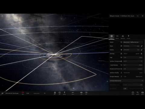 Universe Sandbox 2 - Replacing The Sun with a Supermassive Black Hole