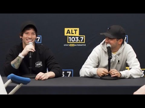 Twenty One Pilots Press Conference With Alt 103 7 Youtube