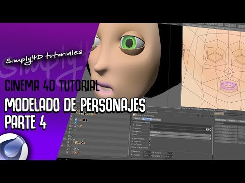 CREACION DE PERSONAJES EN CINEMA 4D - PARTE 4