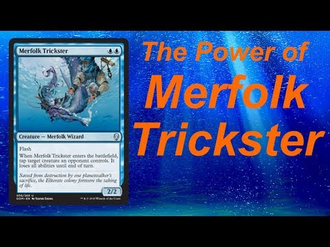 The power of MERFOLK TRICKSTER! First Playtest! (Nikachu)