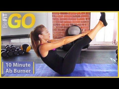 BeFiT GO | 10 Min Ab Burner Workout