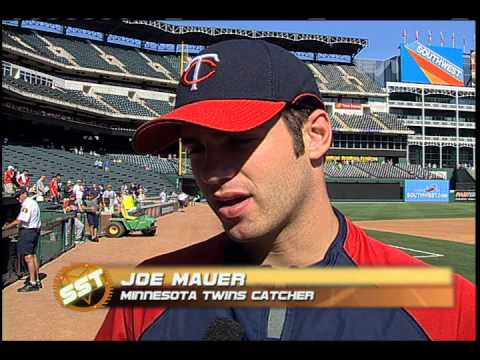 Joe Mauer - High School Highlights/Interview - Sports Stars of Tomorrow