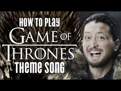 Game Of Thrones Theme Song Guitar Lesson + Tutorial