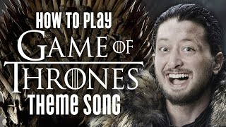 Game of Thrones Theme Song - Guitar Lesson + Tutorial