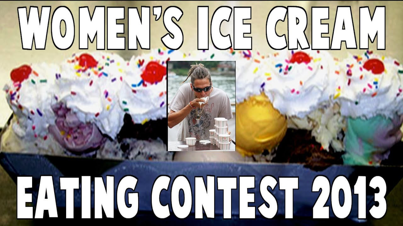Womens Ice Cream Eating Contest 2013 #Farrells ...