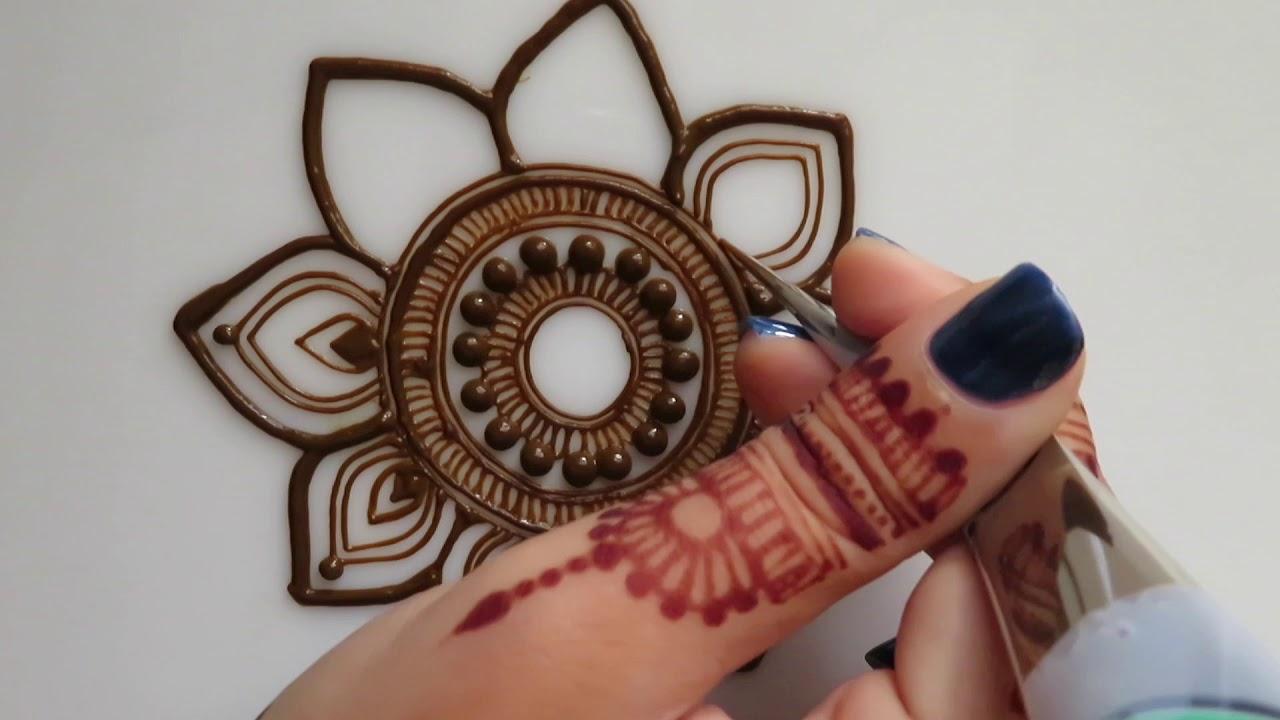 Henna Mandala Youtube