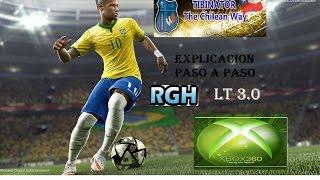 Parche PES 2016 THE CHILEAN WAY Xbox 360 LT 3.0 Y RGH ABRIL 2016 (Paso a paso)  NUEVA VERSION 6.2