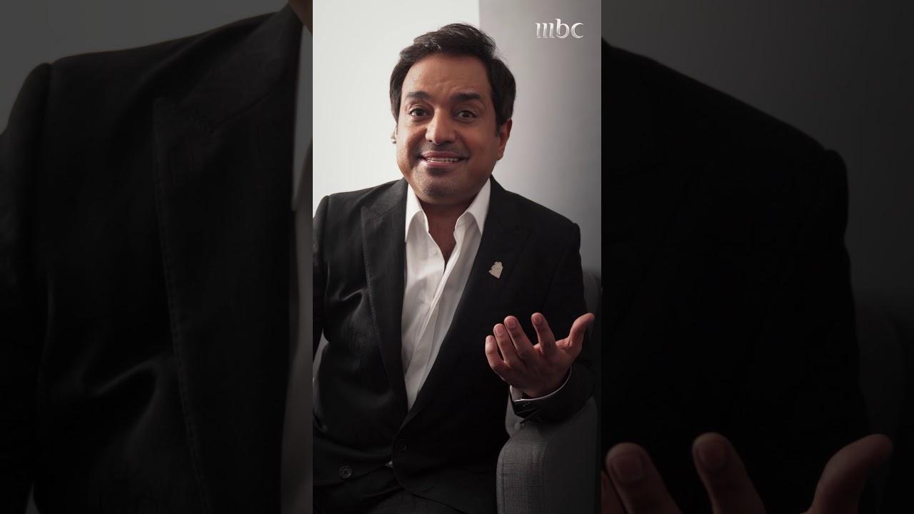 الفنان راشد الماجد يغني في فيديو حصري لشاشة MBC قبل ظهوره على المسرح
