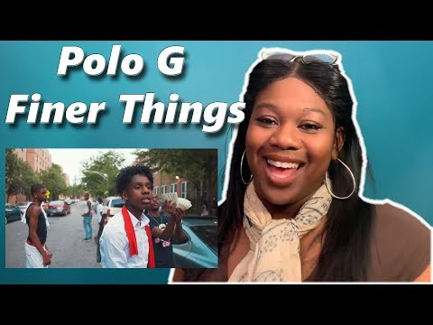 Mom reacts to Polo G - Finer Things  | Reaction