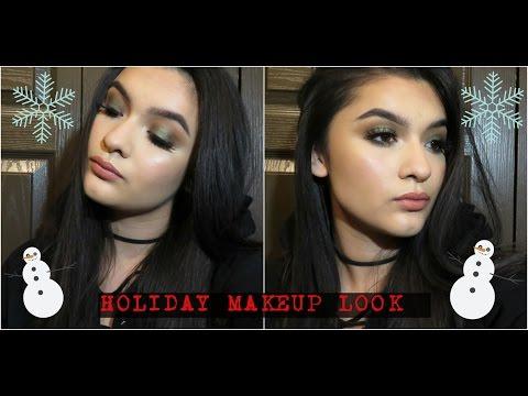 Emerald Green Holiday Makeup Tutorial | D | DNA Beauty