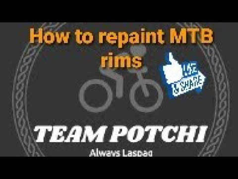 Download How to repaint MTB rims using a spray paint || Simple steps