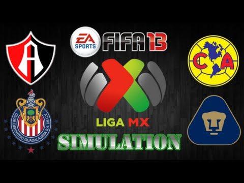 FIFA 13 | Atlas vs. Chivas - America vs. Pumas | J15 Simulations