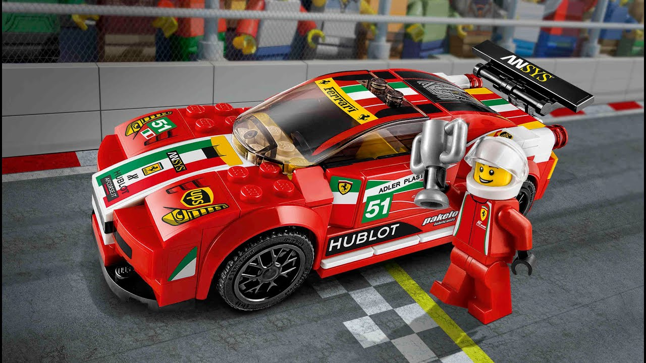 lego speed champions ferrari 75908 gt2 youtube. Black Bedroom Furniture Sets. Home Design Ideas