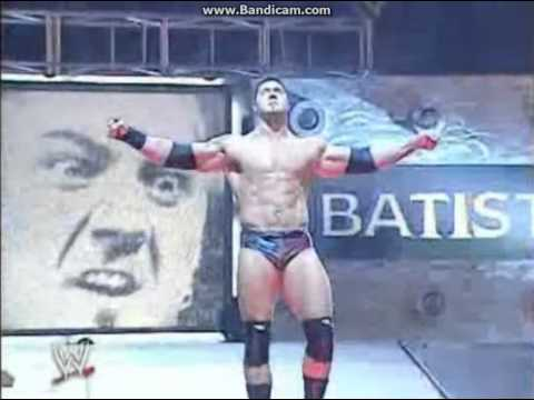 Batista Old school Entrance 2003