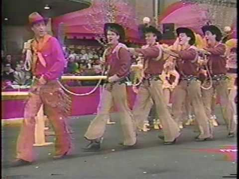 Will Rogers Follies in Macy's Thanksgiving Day Parade
