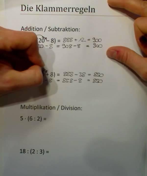 Distributivgesetz division