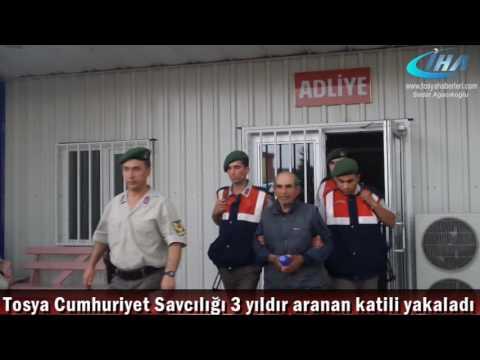 Tosya'da dağda yaşayan Cinayet Zanlısı yakalandı