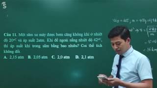 Ôn tập học kỳ II vật lý 10 - Thầy Phạm Quốc Toản
