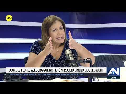 """Lourdes Flores: """"Mi error fue no haber pedido rendición de cuentas a Horacio Cánepa"""" 2/2"""