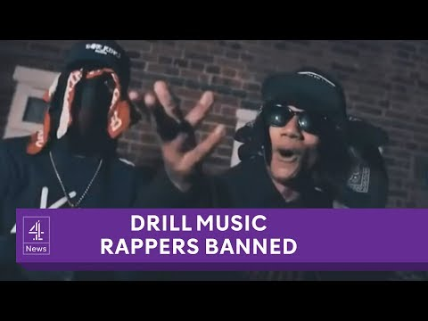 UK drill music gang banned from making violent music