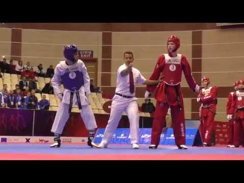 Iran Vs Russia.  Male. World Taekwondo World Cup Team Championships, Baku-2016.