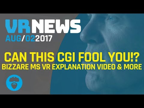 CAN THIS VR CGI FOOL YOU INTO THINKING ITS HUMAN? - BIZZARE MS Instructional Video on VR & More!