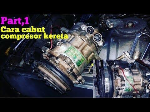 Cara Cabut Compressor Kereta Part 1 Tutorial Automotif Youtube