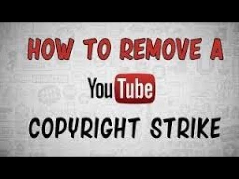 How to remove copyright strike using retract  My First Copyright Strike  Video blocks Delete