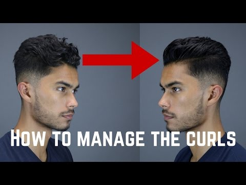 3 Tips & Tricks For Guys With Curly/Wavy/Coarse Hair