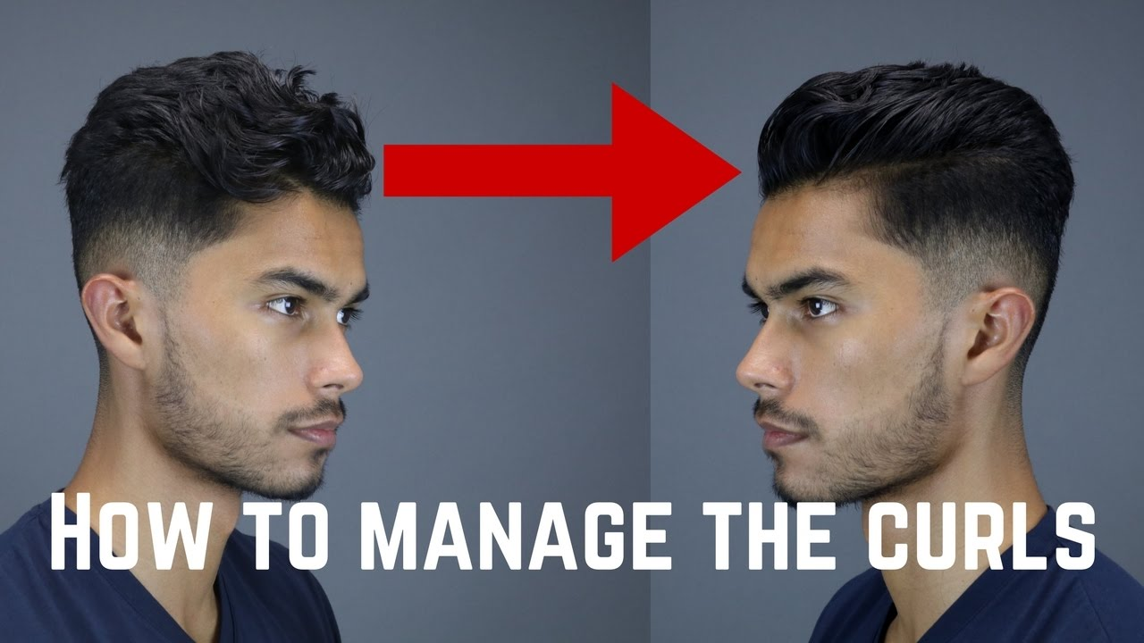 3 Tips Tricks For Guys With Curly Wavy Coarse Hair Youtube