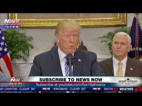 TRUMP TARIFFS: President Signs Tariffs On Steel and Aluminium Imports (FNN)