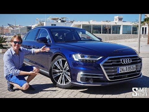 The NEW Audi A8 is the ULTIMATE TECH FEST!